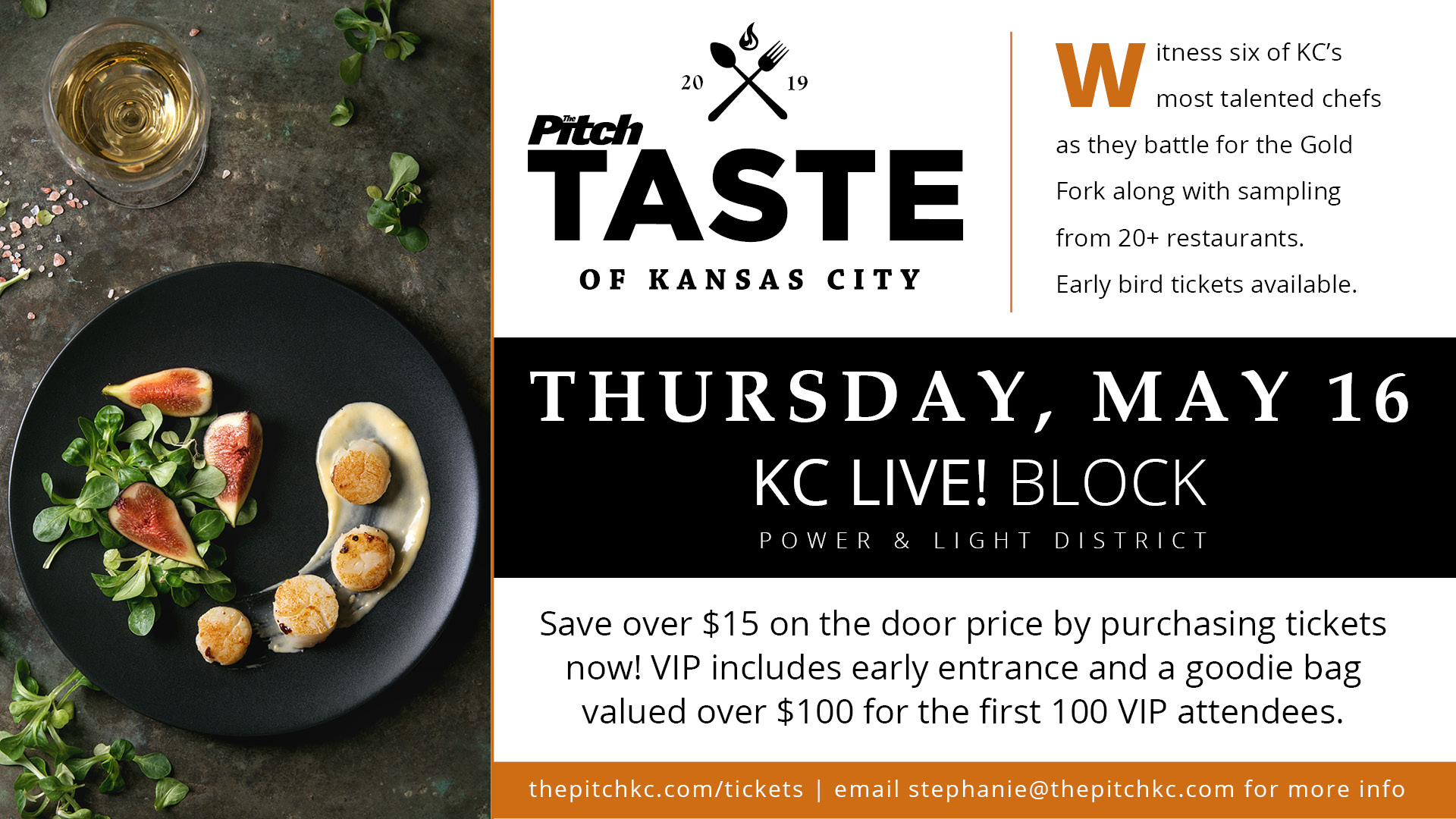 Taste Of Kc Tickets Live Block Kc Power Light District Kc Mo Thu May 16 At 6pm Pitch Tickets